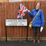 Coates Road and yours truly